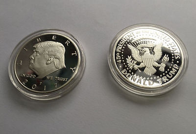 Donald Trump Eagle Coin Make America GREAT Again 45th President USA SA122