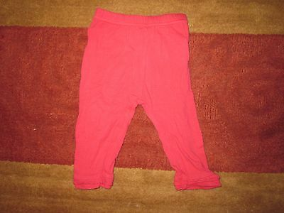 Baby girl pink Pumpkin Patch cotton pants size 3-6 months