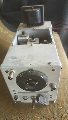 Old Military Ww2 Signal Corps Us Army Radio Receiver Unit, Bc-454-B For Parts