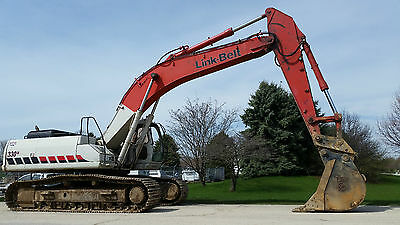 "2008 Link-Belt 330Lx Excavator 5,004 Hours - 30"" Bucket - Aux. Hydraulics"
