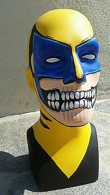 Custom painted mannequin head (wolverine)