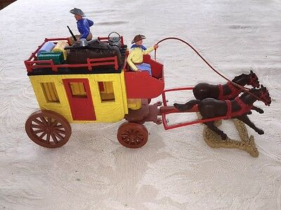Vintage Timpo Stagecoach'