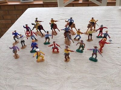 Vintage Timpo Cowboys Including Some 4th Series