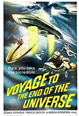Voyage To The End Of The Universe Movie Poster Print - 1963 Sci-Fi - 1 Sheet Art