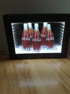 Coca Cola bottles picture LED with an adapter Illuminated