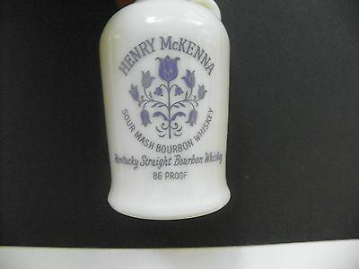 Vintage Empty Henry Mckenna Sour Mash Kentucky Whiskey Miniature 1/10 Pint Jug