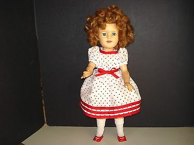 Vintage 50's Shirley Temple Vinyl Ideal Doll-St-17-1
