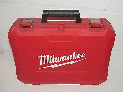 Milwaukee Cordless 18 V Impact Wrenches & Driver 2662-20 Red Carrying Case ONLY