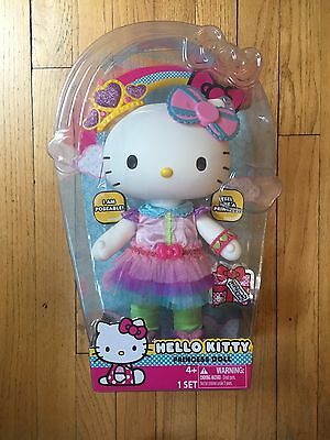 """New 14"""" Hello Kitty Princess Large Poseable Doll"""