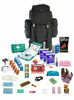 """Emergency Survival Kit One person 72hrs """" Go Bag"""""""