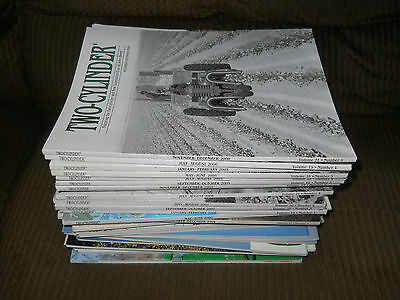 Lot of 68 Two Cylinder John Deere Tractor Magazines books magazine set 2