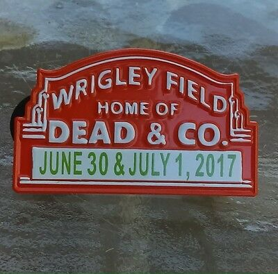 Dead and Company Wrigley Field Collectible Pin