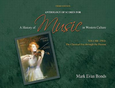 A Anthology of Scores for a History of Music in Western Culture Vol. 2 by...