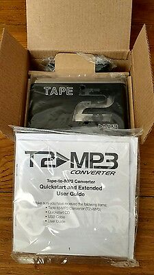 Tape to MP3 Converter PC USB Cassette to MP3 Brand New in Box