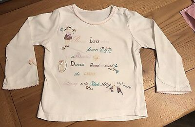 Girls T.shirt Age 12/18 Mothercare