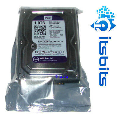 "Western Digital 1Tb Purple Surveillance 3.5"" Sata 3 Hard Drive Wd10Purx"