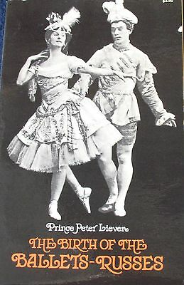 The Birth of Ballets-Russes by Prince Peter Lieven, 1973, Reprint