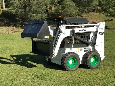 Brand New Skid Steer 650F With 4 in 1 GOLD COAST