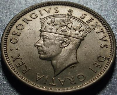 1949 The LAST ONE CYPRUS SHILLING Ever Struck, BRITISH ISLAND King George SEXTUS