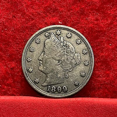 1899 U.S. Liberty 'V' Nickel --VERY FINE--