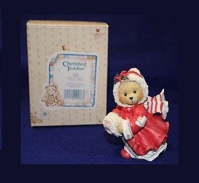 Cherished Teddies ALICE, HARD TO FIND, 1993, NIB, CLEAN PAPERS, MINT, 912875