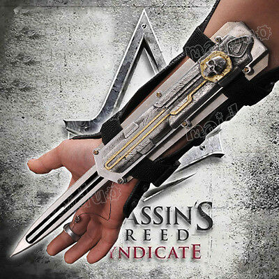 Assassin's Creed Hidden Blade Game Same Style Stainless Steel Catapult Props DIY