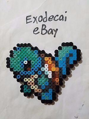Squirtle Pokemon Bead Sprite Perler Art Menu Icon