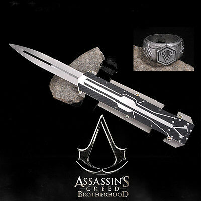 Assassin's Creed Hidden Blade Cosplay Stainless Steel Catapult No Sharped Props