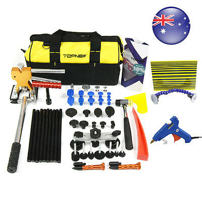 PDR ToolsPaintless r Dent Ding Repair With Bag Puller Hail Removal Tools Kit