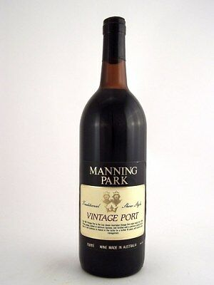1981 MANNING PARK Vintage Port Isle of Wine