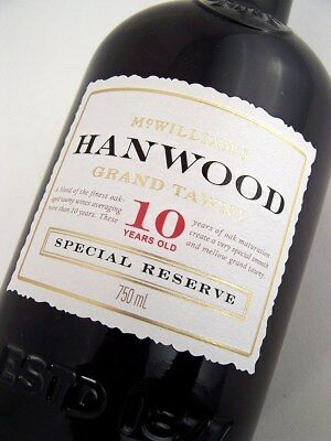 2006 circa NV McWILLIAMS Hanwood 10YO Tawny Port Isle of Wine
