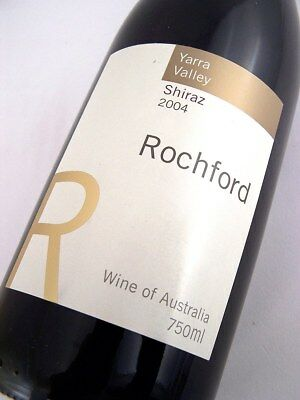 2004 ROCHFORD WINES Yarra Valley Shiraz Isle of Wine