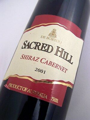 2001 De BORTOLI Sacred Hill Shiraz Cabernet Isle of Wine