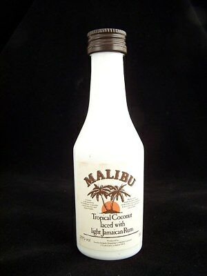 Miniature circa 1989 MALIBU COCONUT RUM Isle of Wine