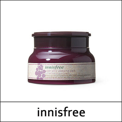 [Innisfree] Wine Jelly Sleeping Pack 80ml / Korea Cosmetic / SweetCorea / (둘)