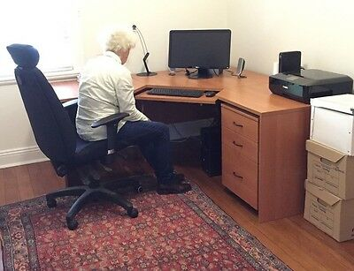 1.8m Corner Workstation Desk Executive Office Table Computer Home Student