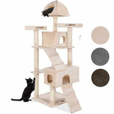 Arbre à chat Griffoir Grattoir 182cm CAT002-4 Couleurs Diverses