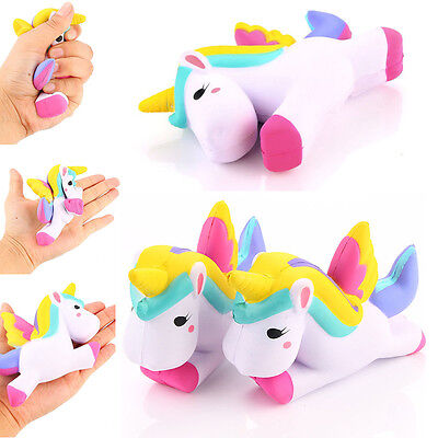 Popular Squeeze Toy Unicorn Squishy Slow Rising Cartoon Doll Decoration