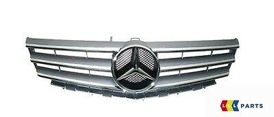 New Genuine Mercedes Benz Mb A Class W169 Front Radiator Grille Silver