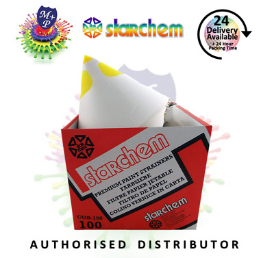 Starchem Paint strainers 260 Micron for solvent top coats x 10