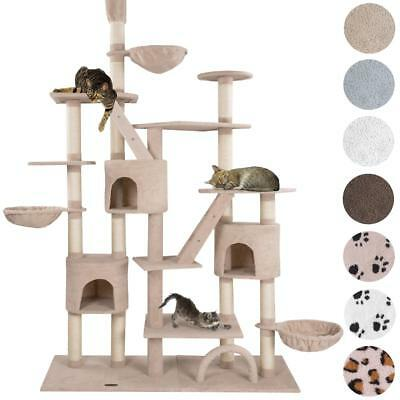happypet Arbre à chat Griffoir Grattoir CAT013-4 Grand 230-260 cm Div. Couleurs