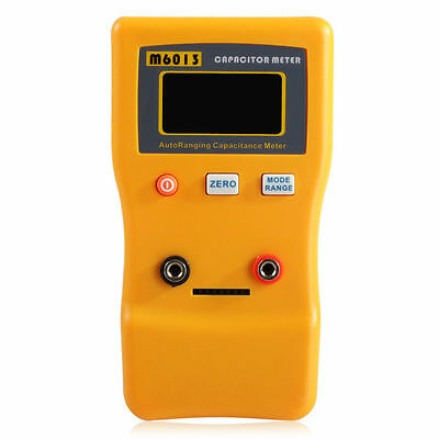 New M6013 Auto Range Digital Capacitor Tester Meter 0.01pF to 470mF J5G2