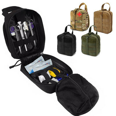 900D Nylon Tactical Outdoor Molle Bag Medical First Aid Utility Emergency Pouch