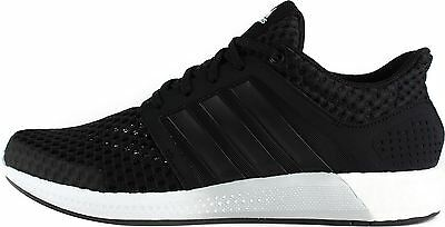 adidas Boost Solar RNR Running Shoes Mens Black Gym Fitness Trainers Sneakers