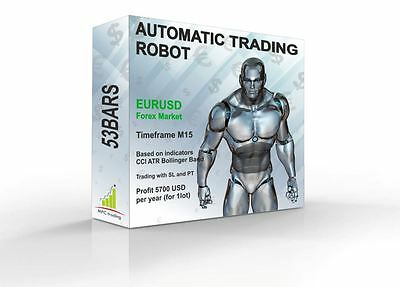 Automatic EA Forex Trading Robot Mt4 Profit Strategy Professional System