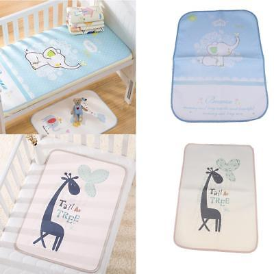 2PC Baby Changing Mat Cover PVC Waterproof Diaper Nappy Change Pad 100x56cm