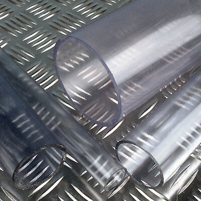 12mm PVC Tube Clear - Plastic Hose Pipe - Choose Length
