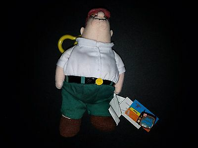 Peter Griffin Plush Toy Keychain Family Guy Underground Toys Clip Key Chain