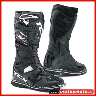 Tcx X-MUD Nero Stivale Cross Off Road Fuoristrada
