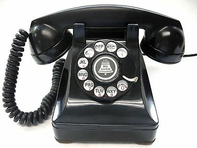 Western Electric 302  1949 RESTORED!   Rotary Desk Phone
